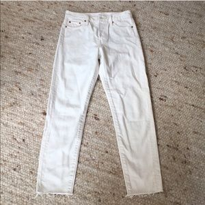 Levi's Wedgie Off-white Jeans